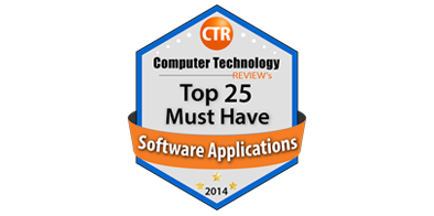 Computer Tech Review Top 25 Must-Have Software Applications Award