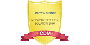 Network Security Cutting-Edge Award Winner, 2016
