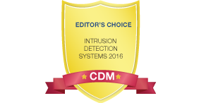 Editor's Choice Intrusion Detection Systems Award Winner, 2016