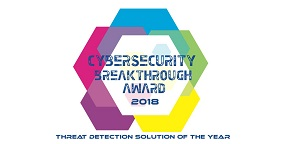 2018 CyberSecurity Breakthrough Awards