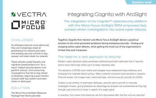 Vectra Product integration - Integrating Cognito with Micro