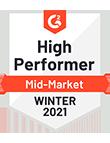 High Performer Award 2021