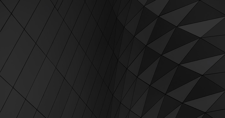 An abstract, dark, geometric stock photo.