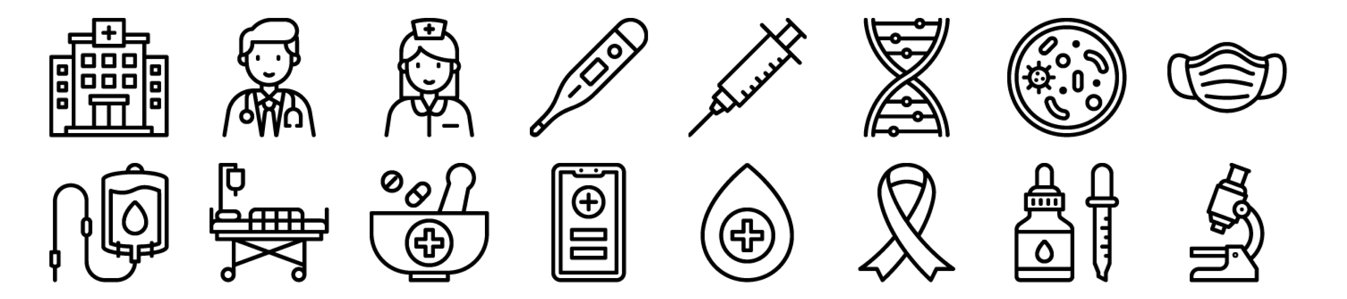 Medical & Health Icons