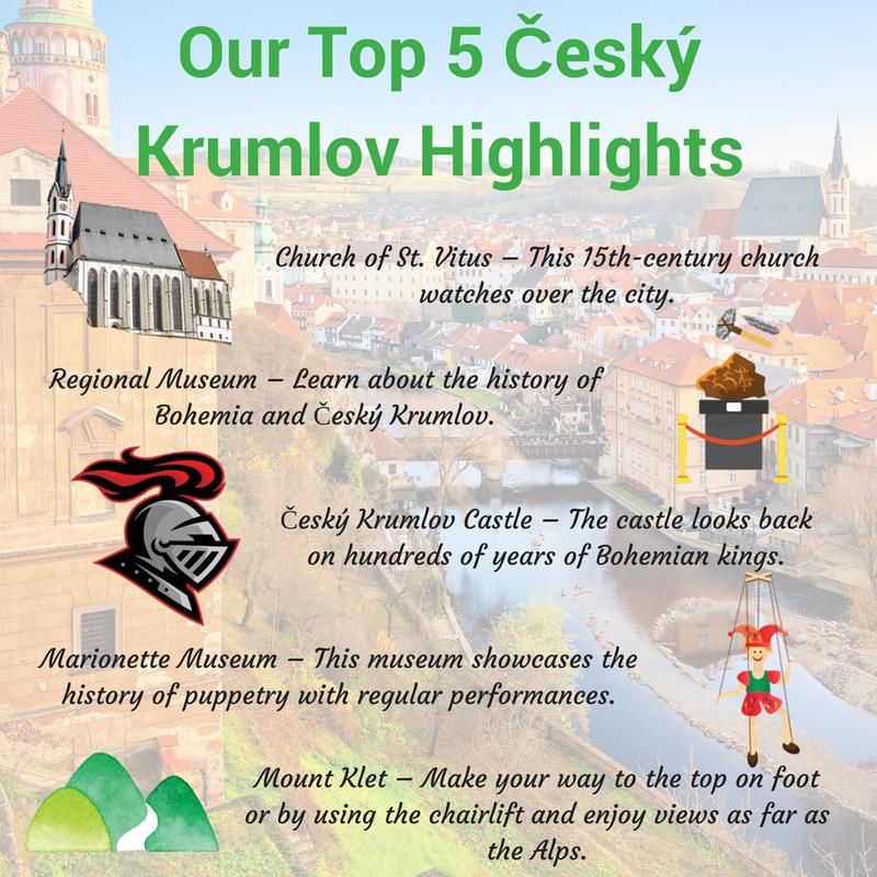 Top 5 Český Krumlov Highlights