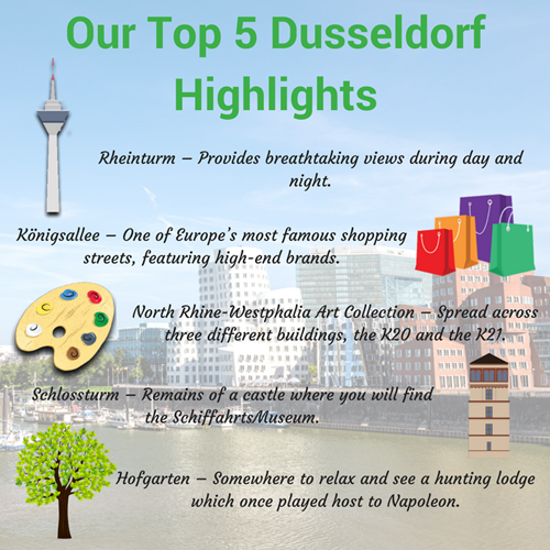 Top 5 Things To Do In Dusseldorf