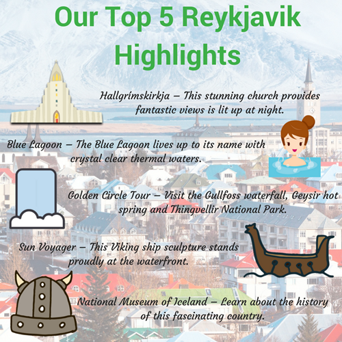 5 Things To Do In Reykjavik