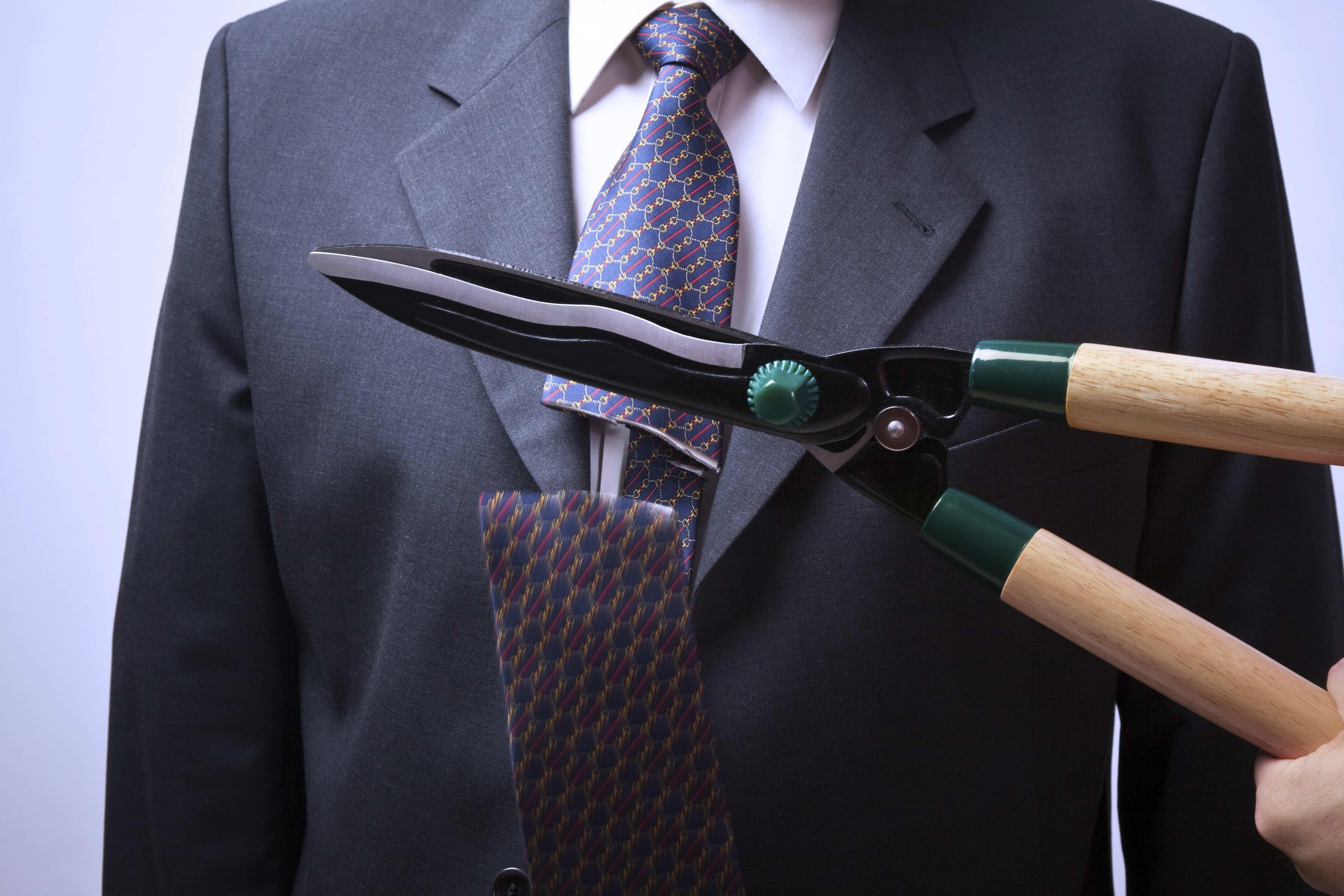 Tie Cut