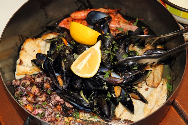 Croatian Fish Stew Gregada