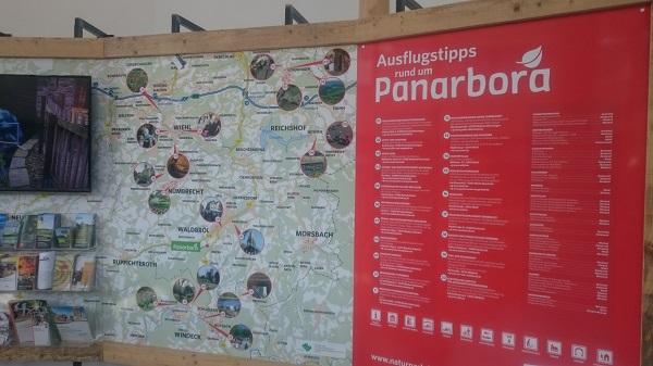 Panarbora Map