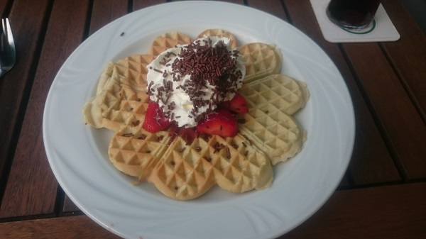 Kaffeetafel Waffle