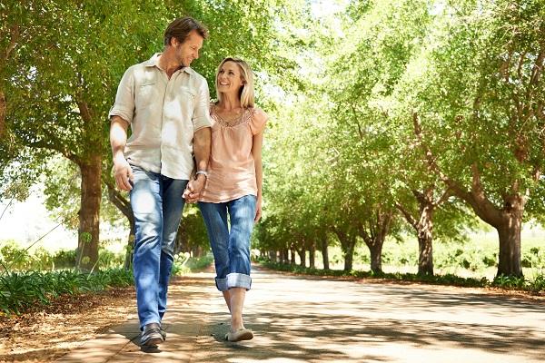 Romantic Walk in the Park
