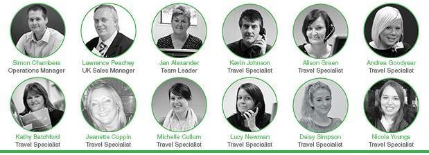 Our Travel Specialists