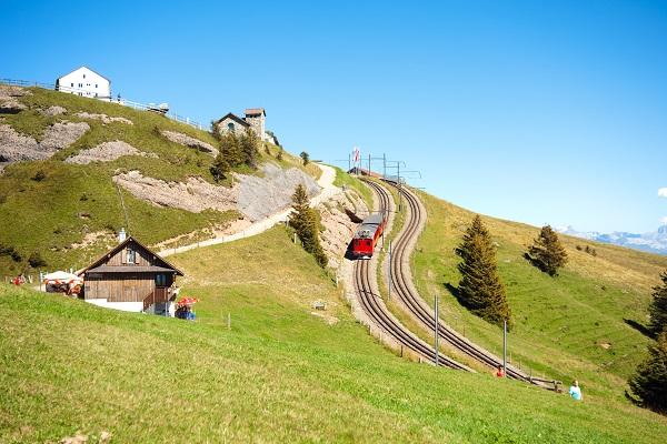 Mount Rig Cogwheel Train