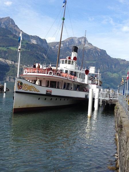 Lake Lucerne Steamboat
