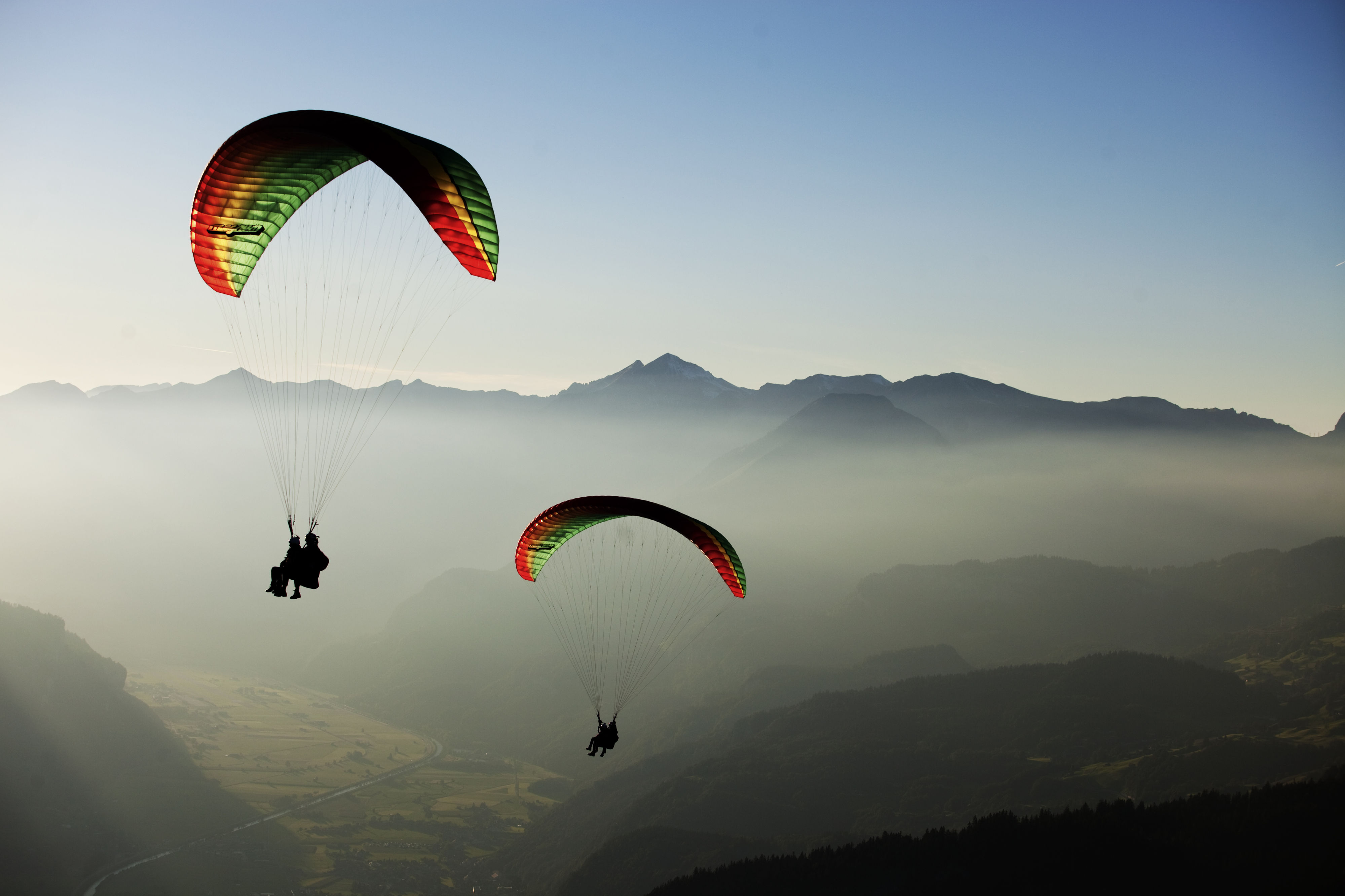 Paragliding Switzerland