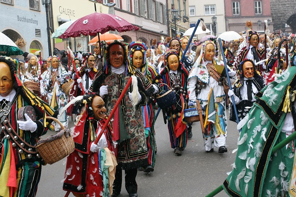 German Carnival Parade