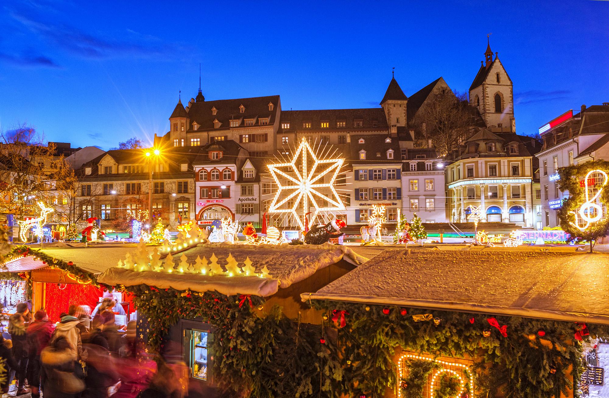 Basel Christmas Market.Basel Christmas Market Fred Holidays