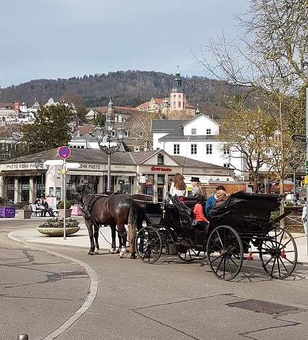 Baden-Baden Horse and Carriage