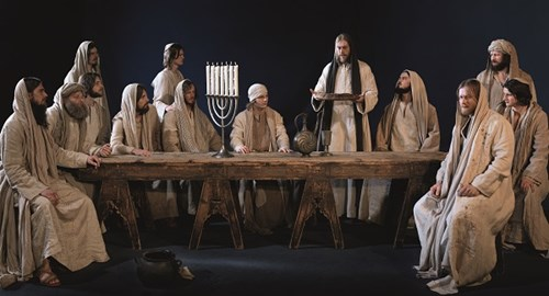 Passion Play last Supper