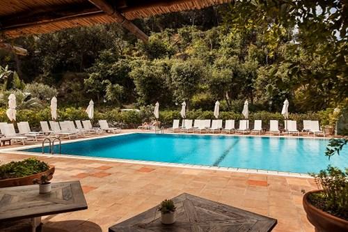 Outdoor Pool Garden Villas Resort