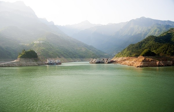 Three Gorges on a Yangtze River Cruise