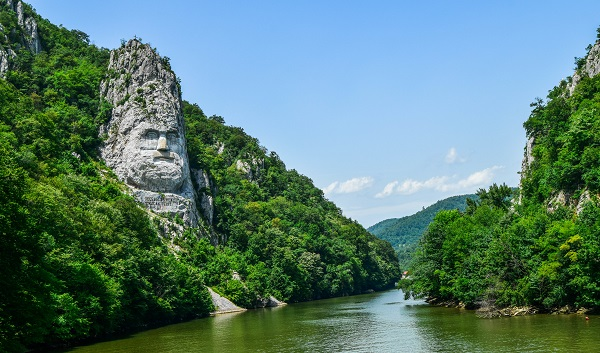 Rock Face of Decebalus