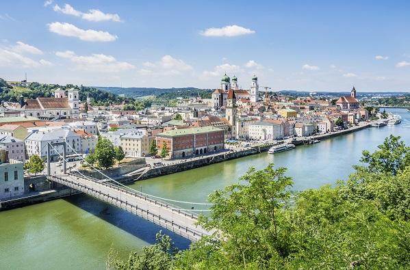 River Ilz Through Passau