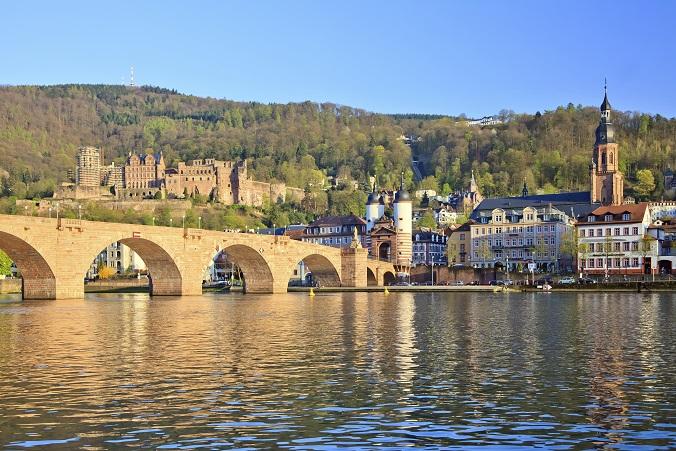 Bridge Over River Rhine