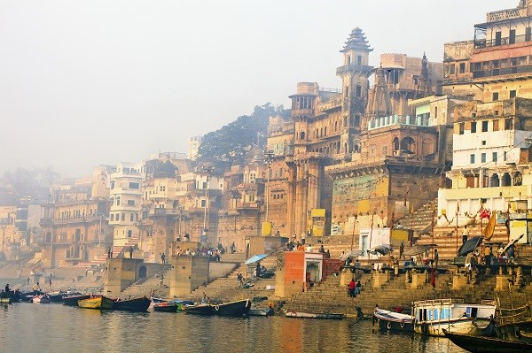 Ganges In The Morning