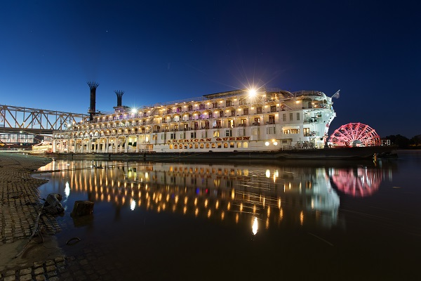 American Queen At Night