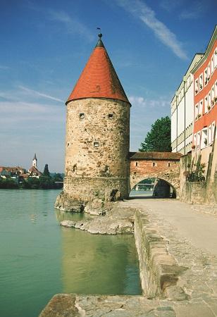 Tower on Danube