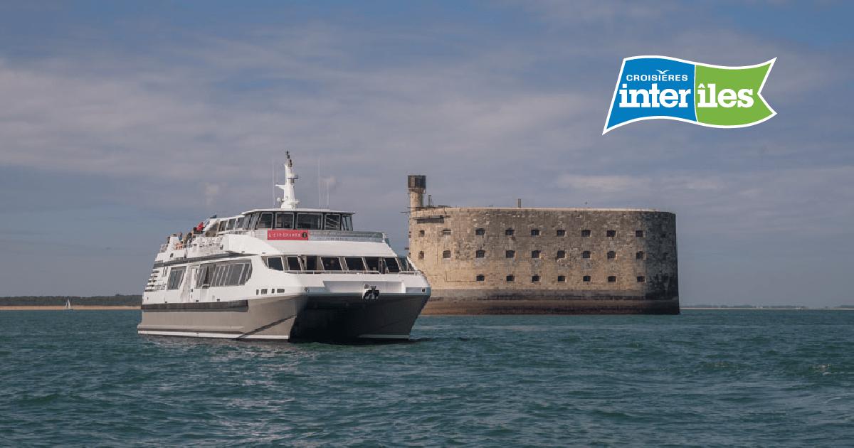Croisières Inter îles Découvrez Fort Boyard Et Les îles