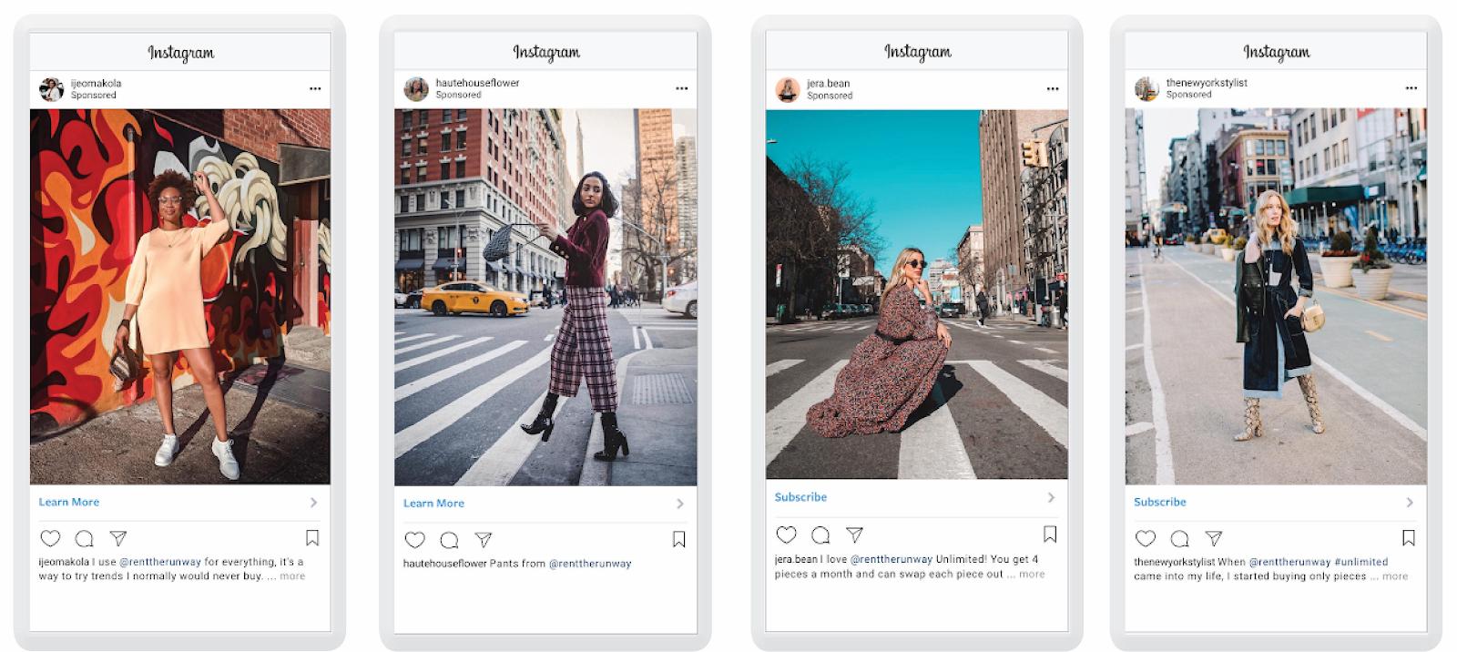 whitelisted influencer instagram ads