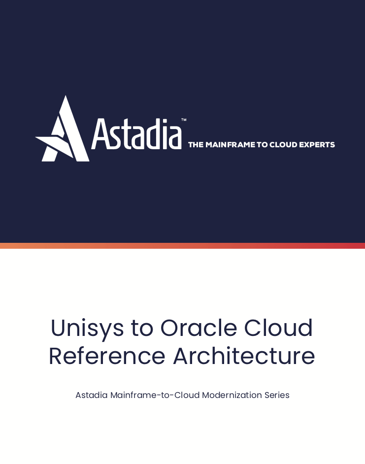 Unisys Mainframe to Oracle Cloud Reference Architecture