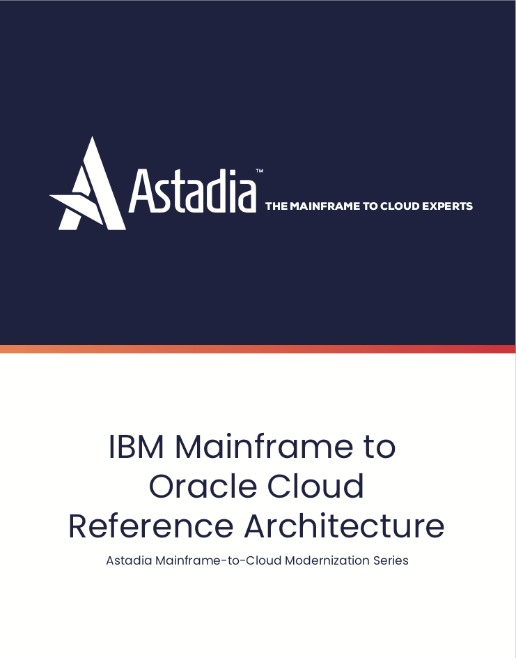 IBM Mainframe to Oracle Cloud Reference Architecture
