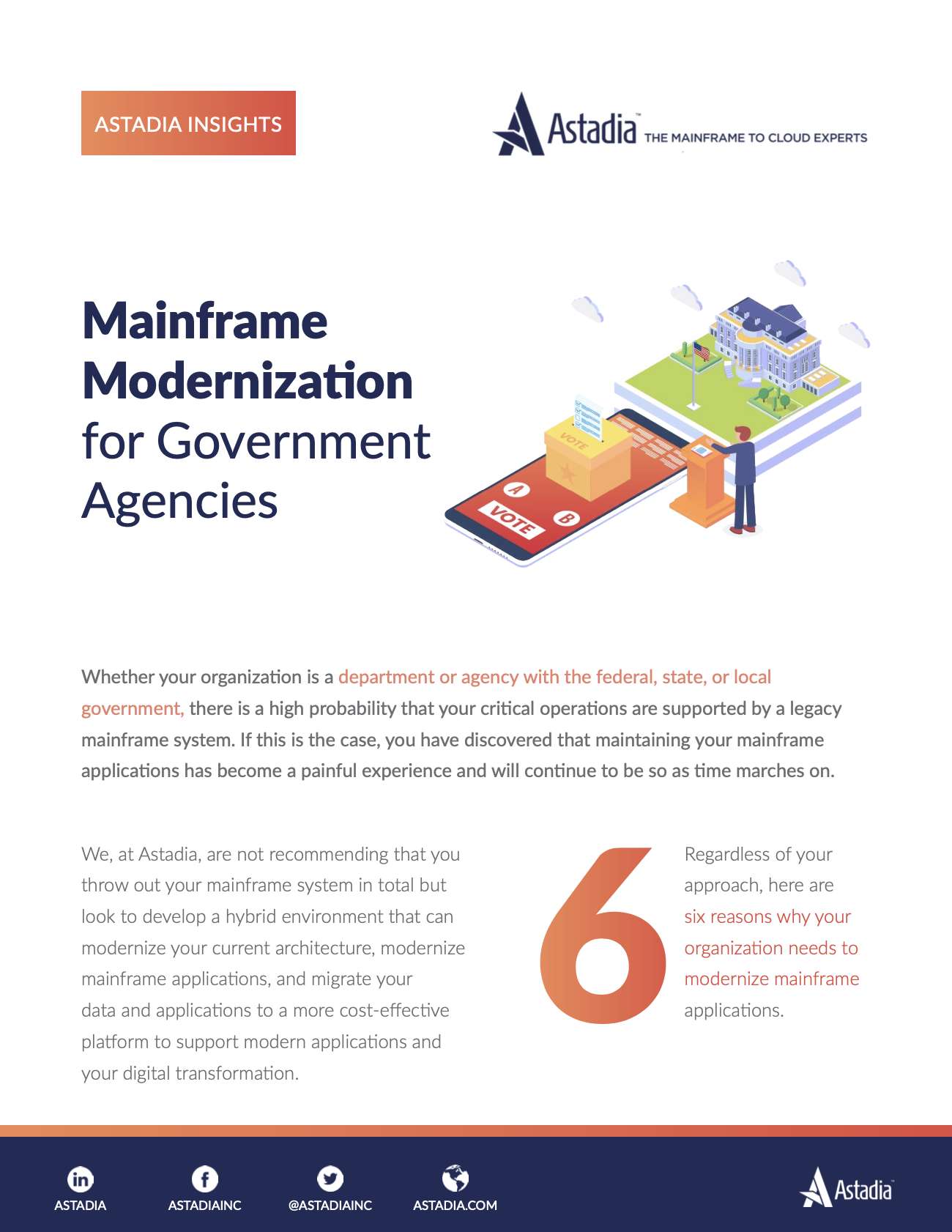 Mainframe Modernization for Government Agencies