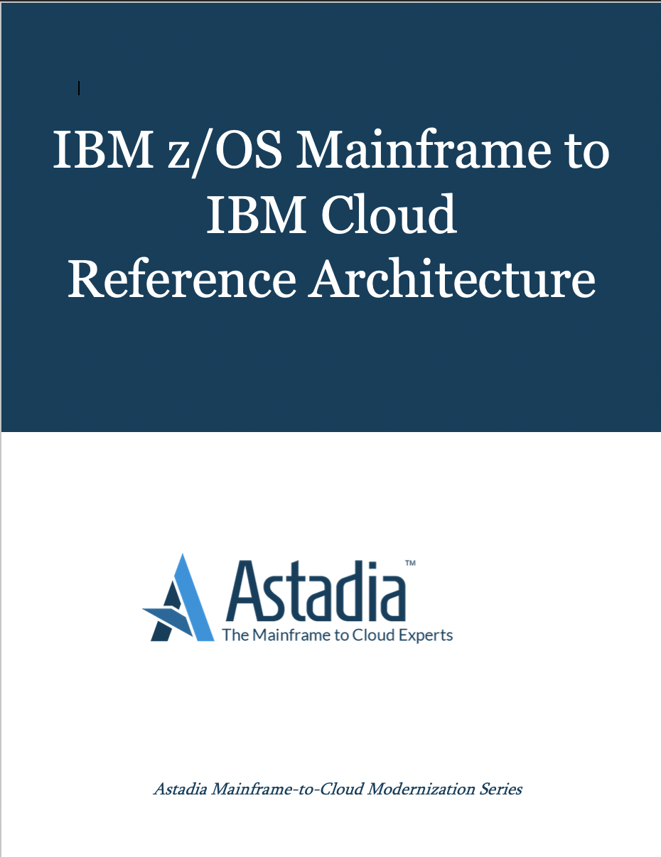 IBM zOS Mainframe to IBM Cloud Reference Architecture
