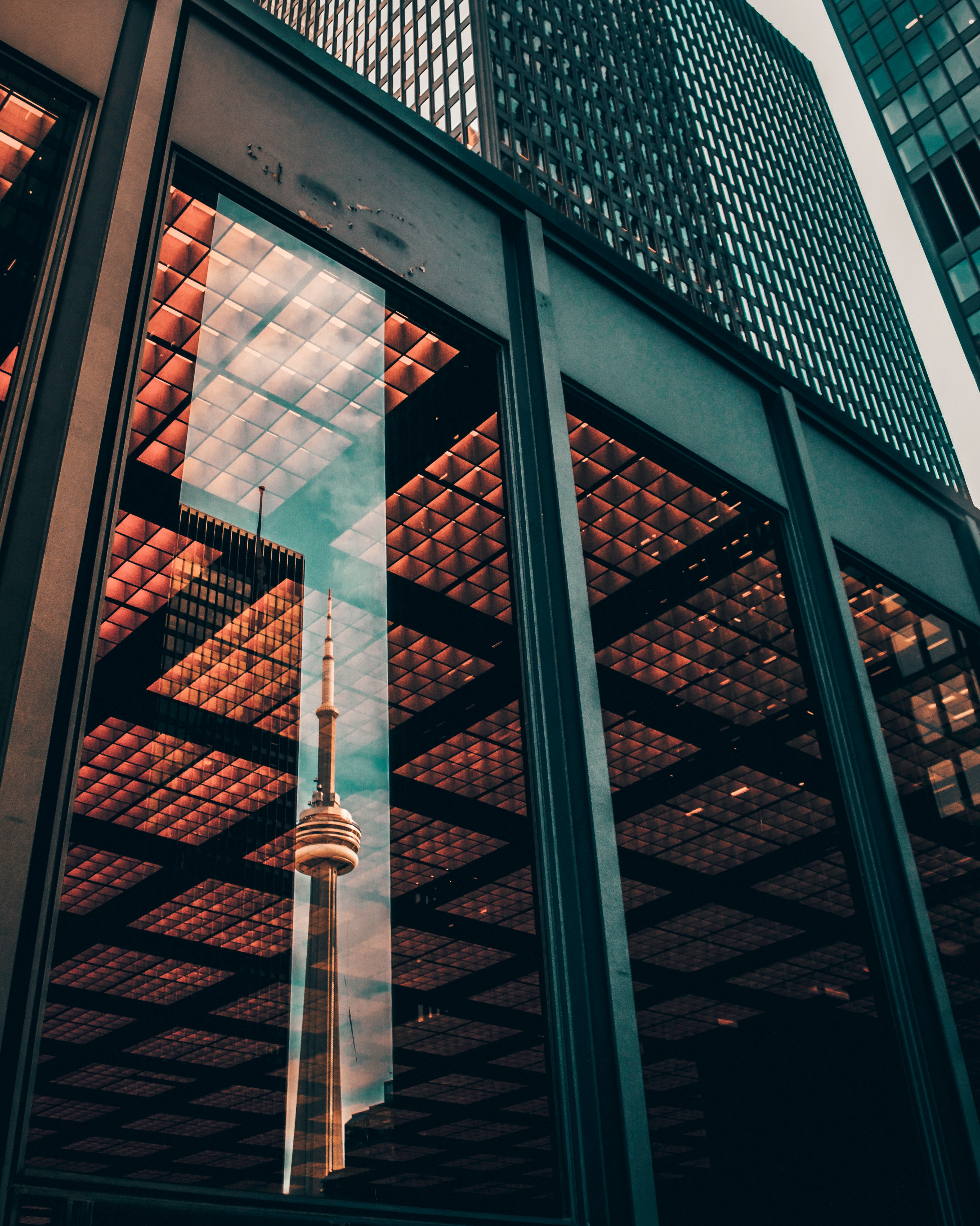 Toronto corporate building downtown