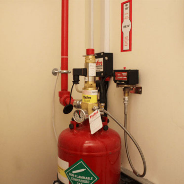 Photo of a fire suppression thingy