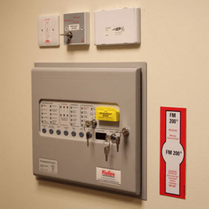 Photo of a control panel