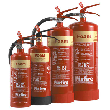 Photo of Foam Fire Extinguishers