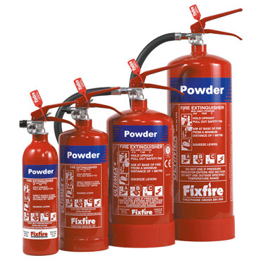 Photo of Powder Extinguishers