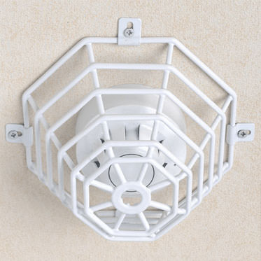 Photo of a Steel Web Stopper for Smoke detector