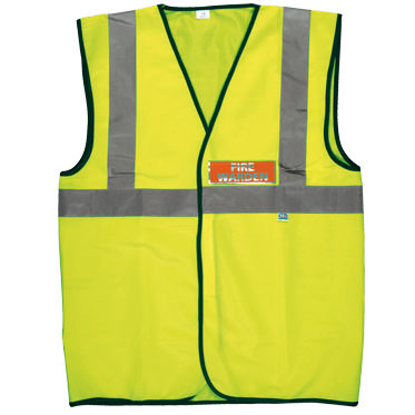 Photo of a Fire Warden Marshal Waistcoat