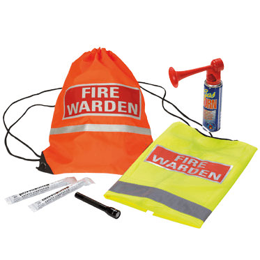 Photo of a Basic Fire Warden Kit