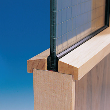 Photo of a System-36 PLUS Glazing Seal
