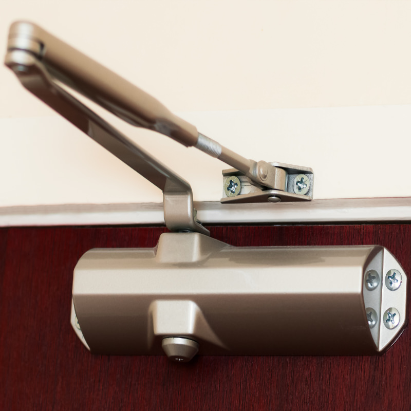 Photo of a door closer