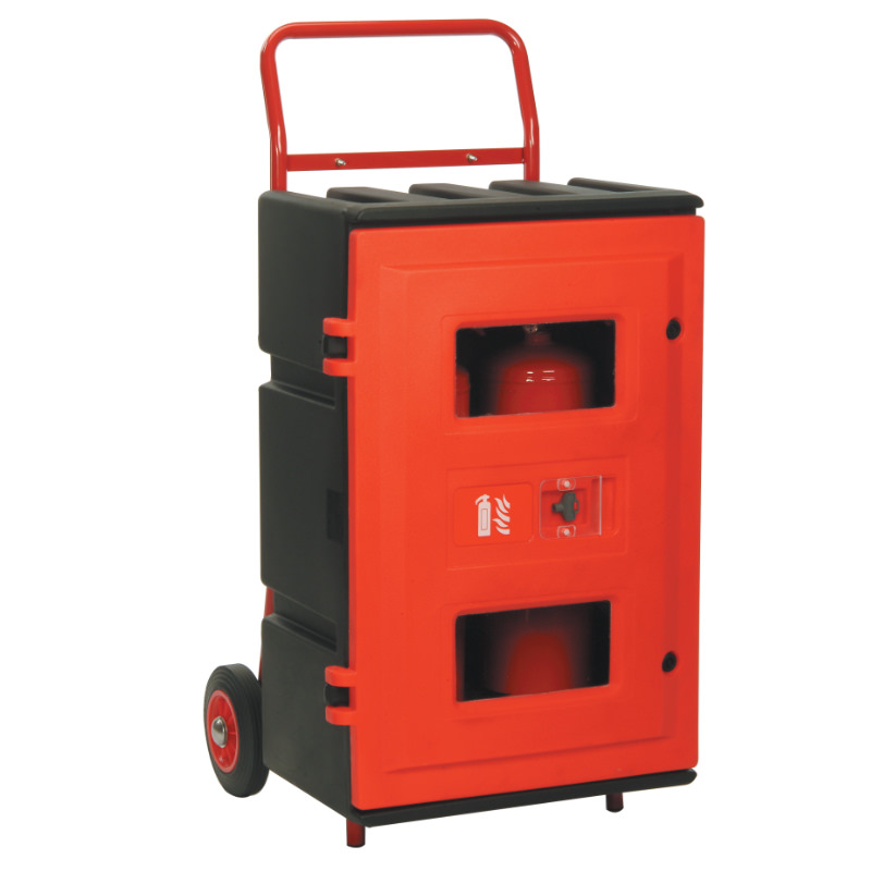 Extinguisher TuffCabinet Cabinet Trolley