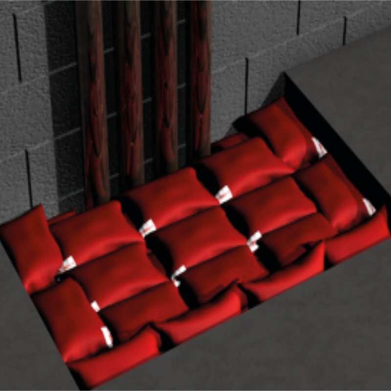 Intumescent Fire Pillows